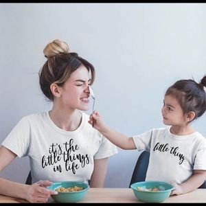 Other - Matching Mom & Toddler Tee Set